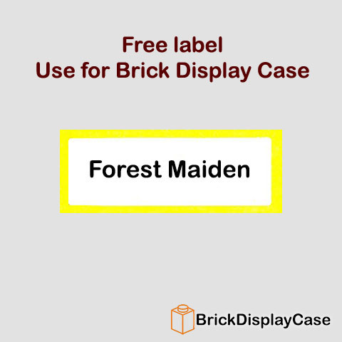 Forest Maiden - 71000 Lego Minifigures Series 9