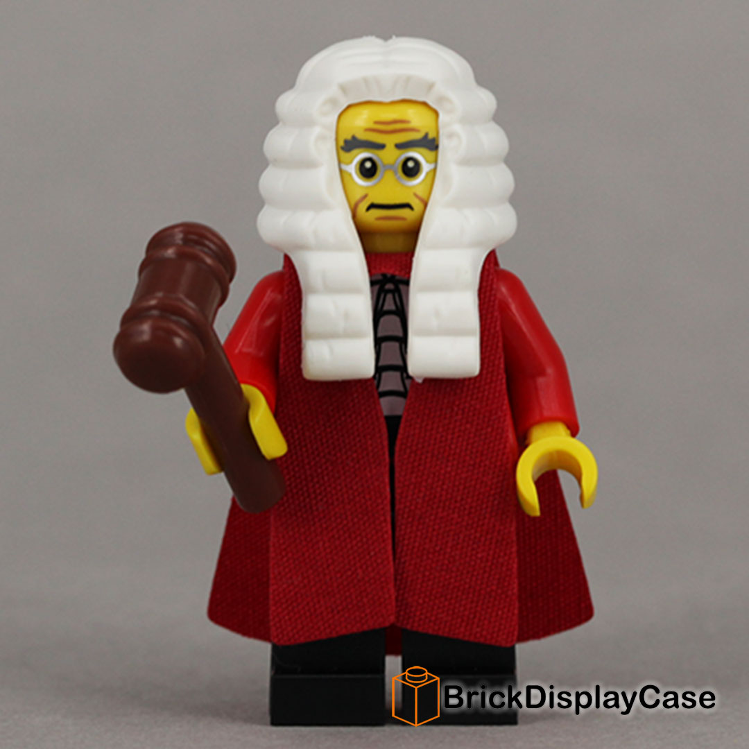 Judge - 71000 Lego Minifigures Series 9