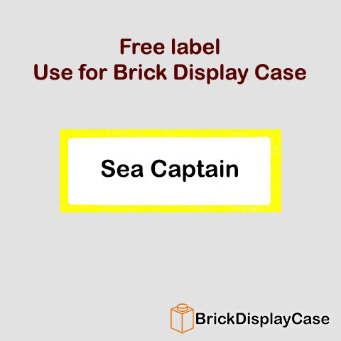 Sea Captain - 71001 Lego Minifigures Series 10