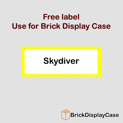 Skydiver - 71001 Lego Minifigures Series 10