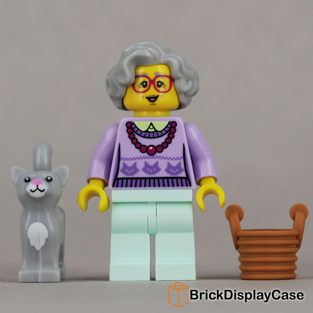 LEGO-MINIFIGURES SERIES 11 DINER WAITRESS FROM SERIES 11 X 1 HAIR PIECE FOR