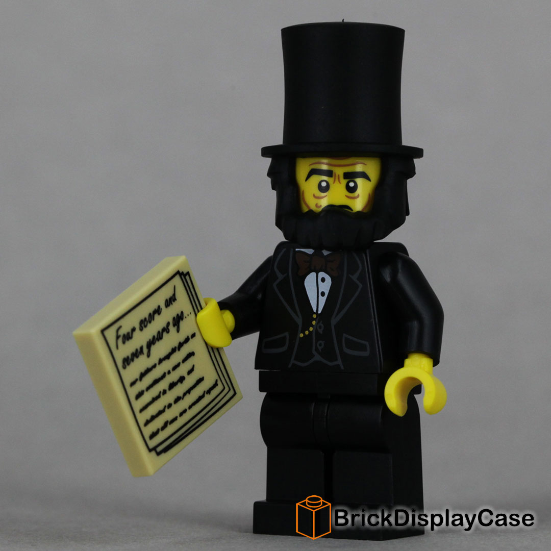 Abraham Lincoln - The Lego Movie 2014 - 71004 Minifigures Series