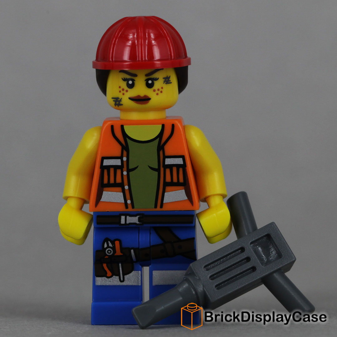 Gail the Construction Worker - The Lego Movie 2014 - 71004 Minifigures Series