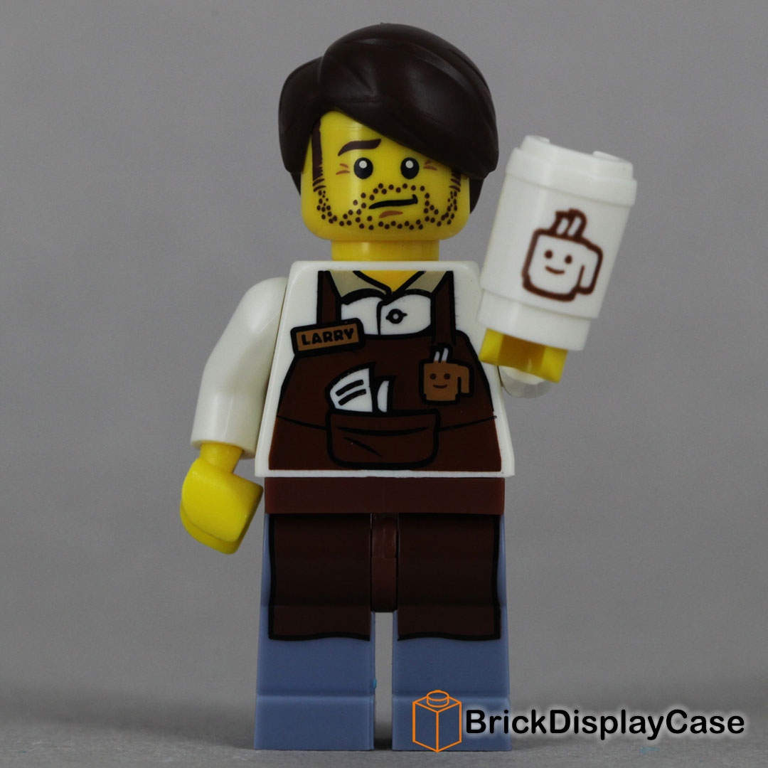 Larry the Barista - The Lego Movie 2014 - 71004 Minifigures Series