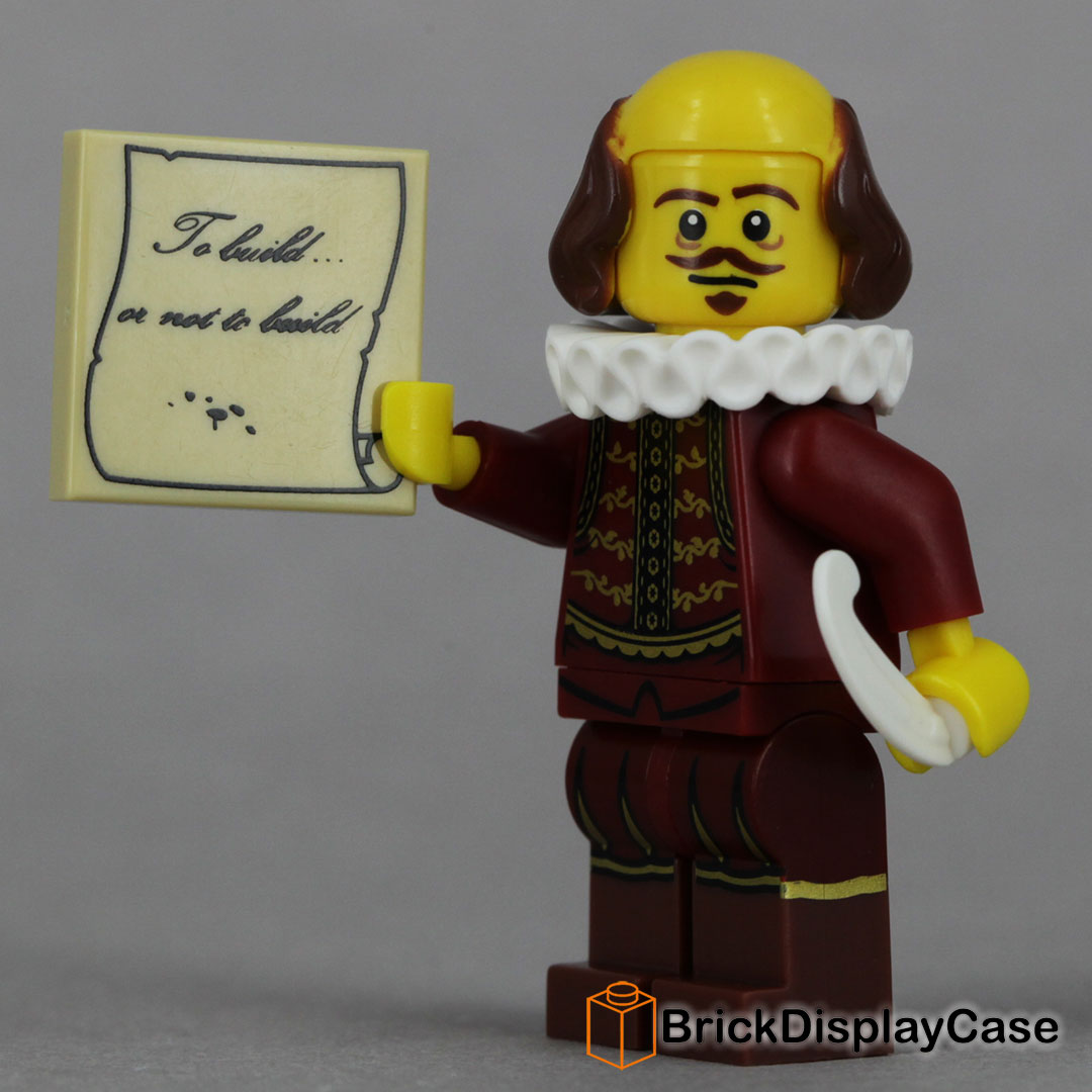 William Shakespeare - The Lego Movie 2014 - 71004 Minifigures Series