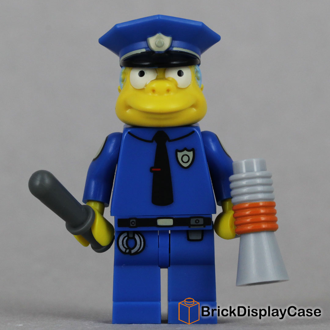 Chief Wiggum - 71005 Lego Simpsons Minifigures Series