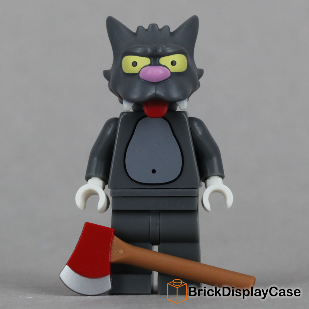Scratchy - 71005 Lego Simpsons Minifigures Series