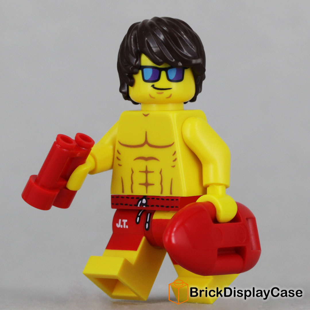 Lifeguard Guy - 71007 Lego Minifigures Series 12