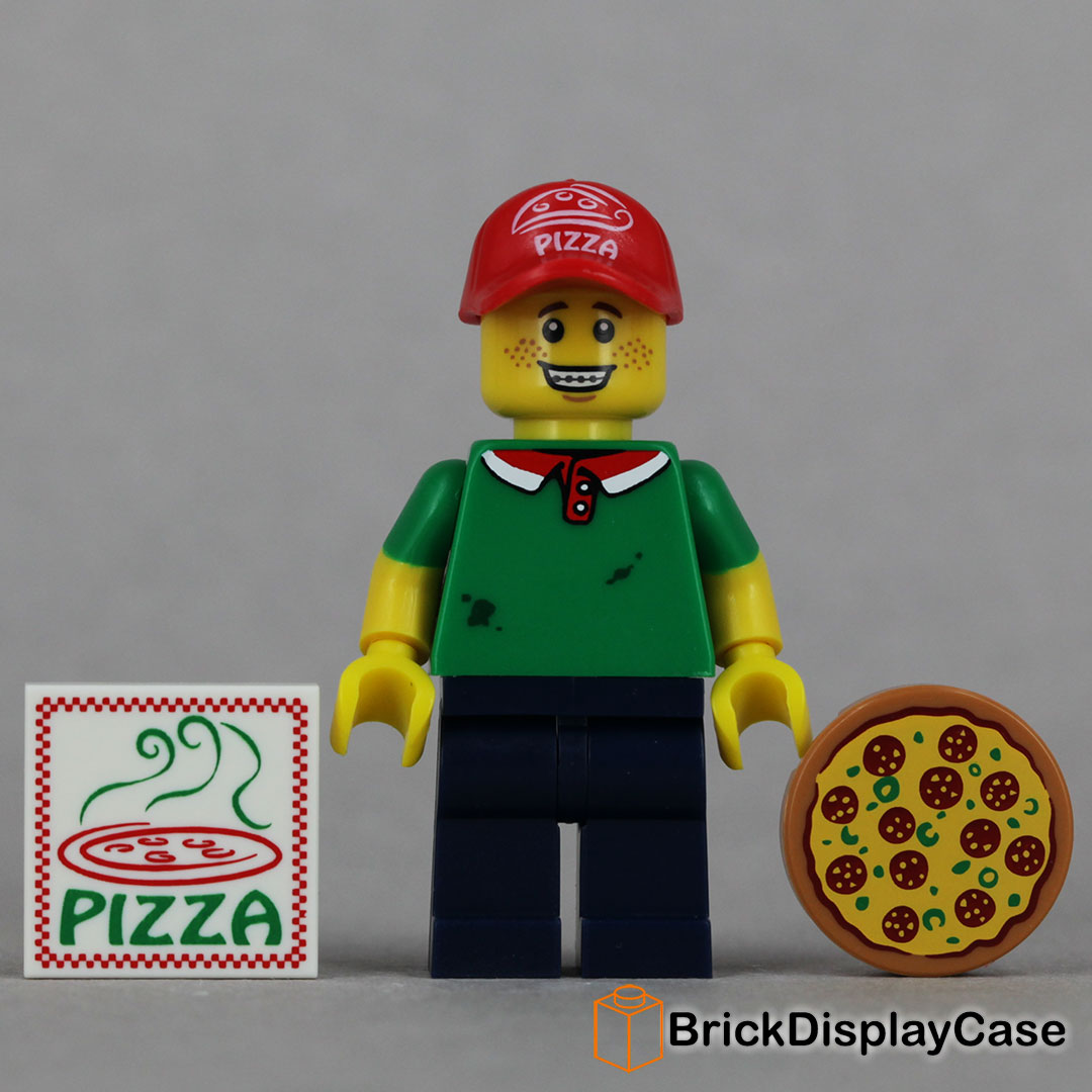 Pizza Delivery Man - 71007 Lego Minifigures Series 12