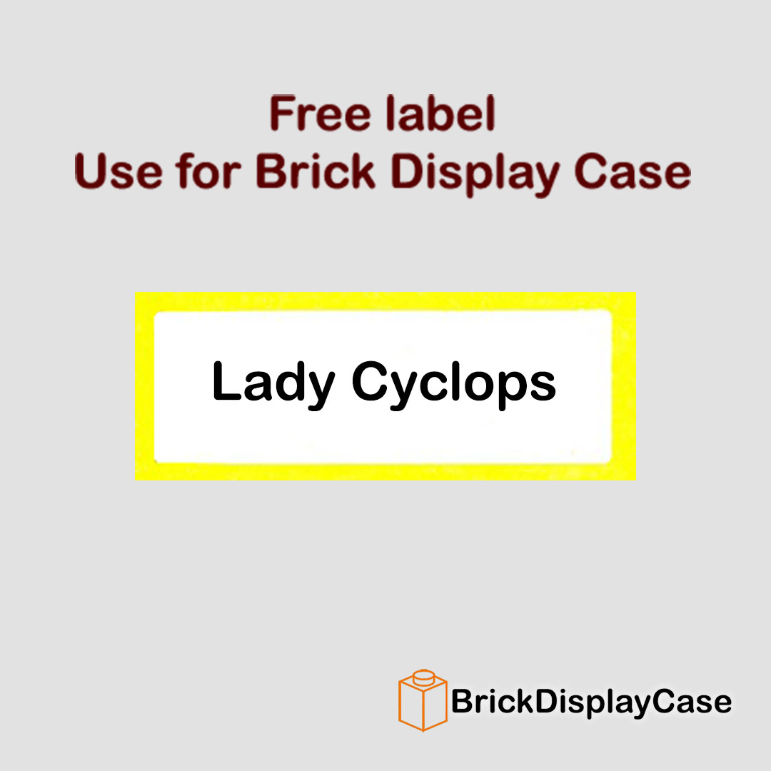 Lady Cyclops - 71008 Lego Minifigures Series 13