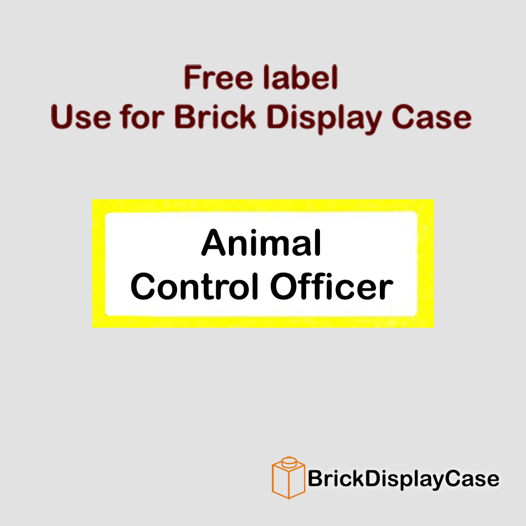 Animal Control Officer - 71011 Lego Minifigures Series 15