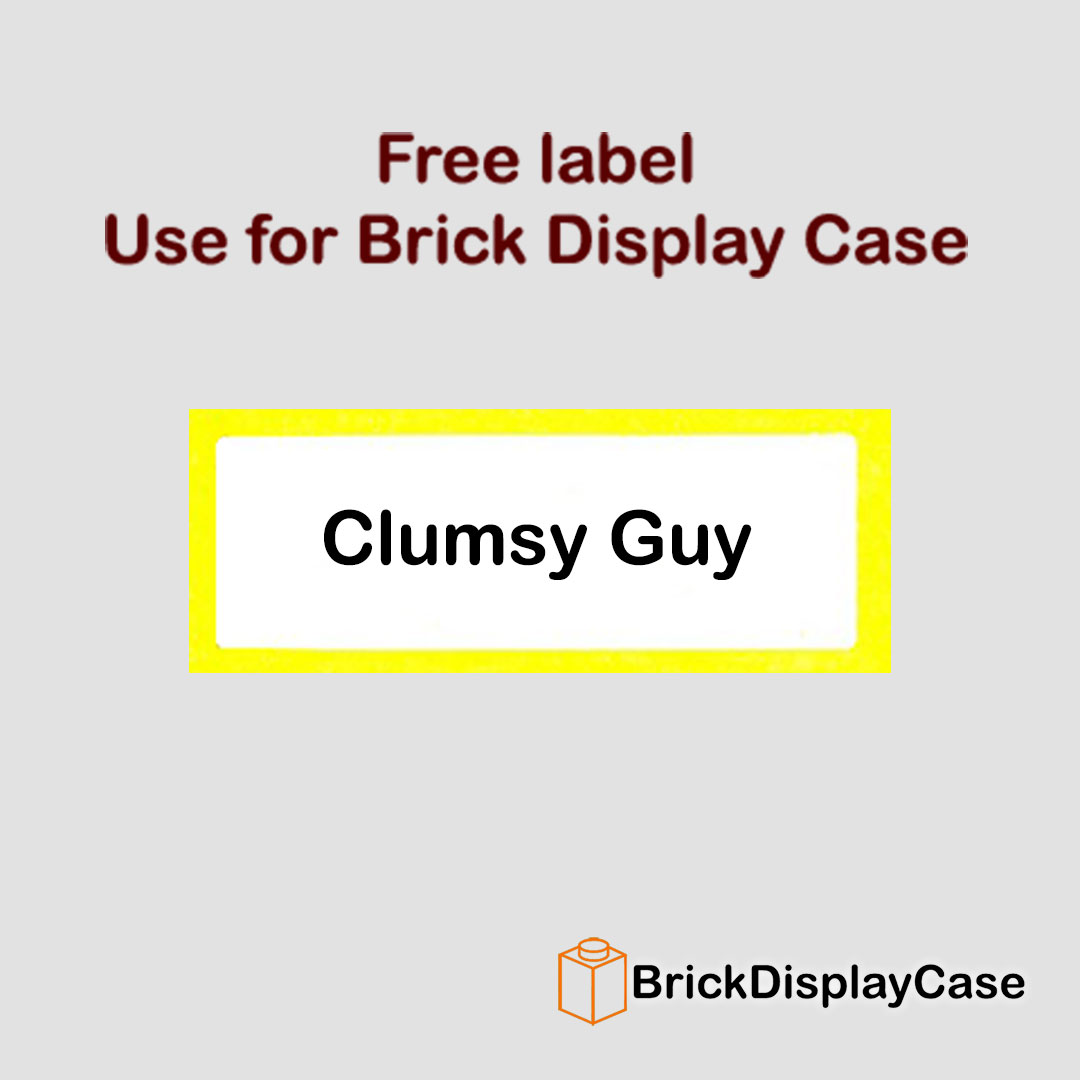 Clumsy Guy - 71011 Lego Minifigures Series 15