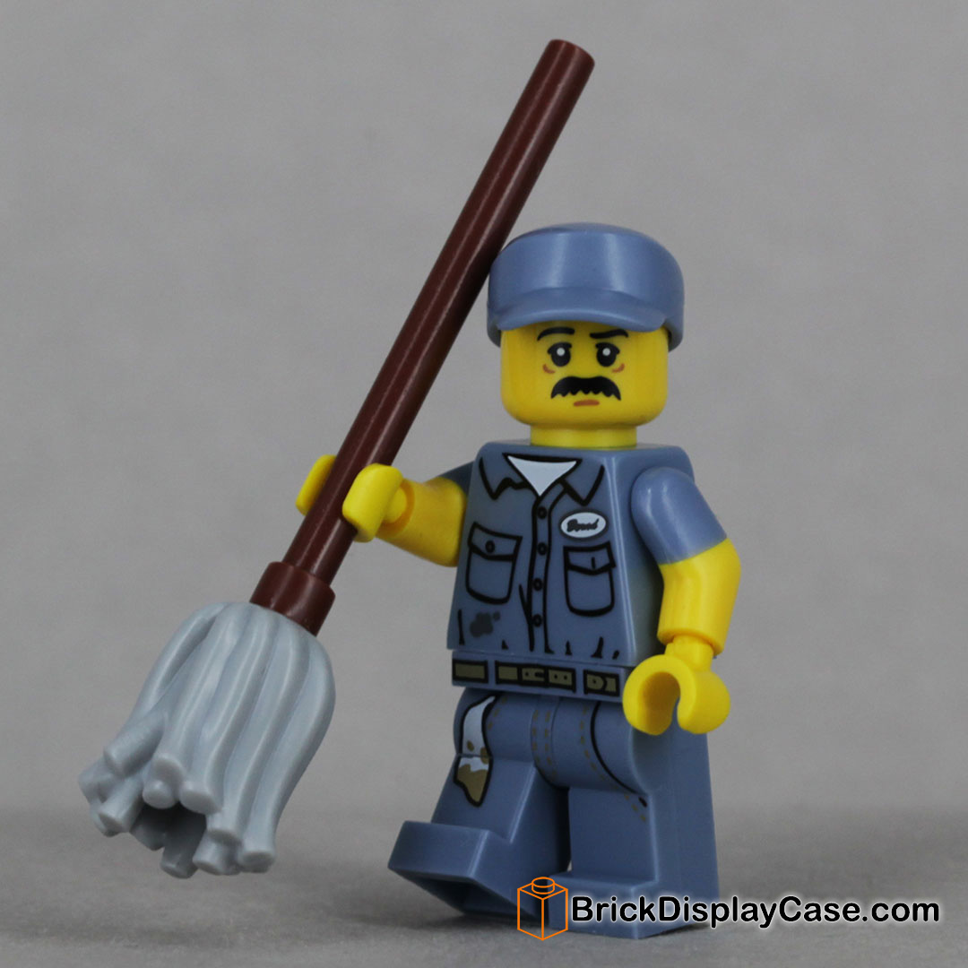 Janitor - 71011 Lego Minifigures Series 15