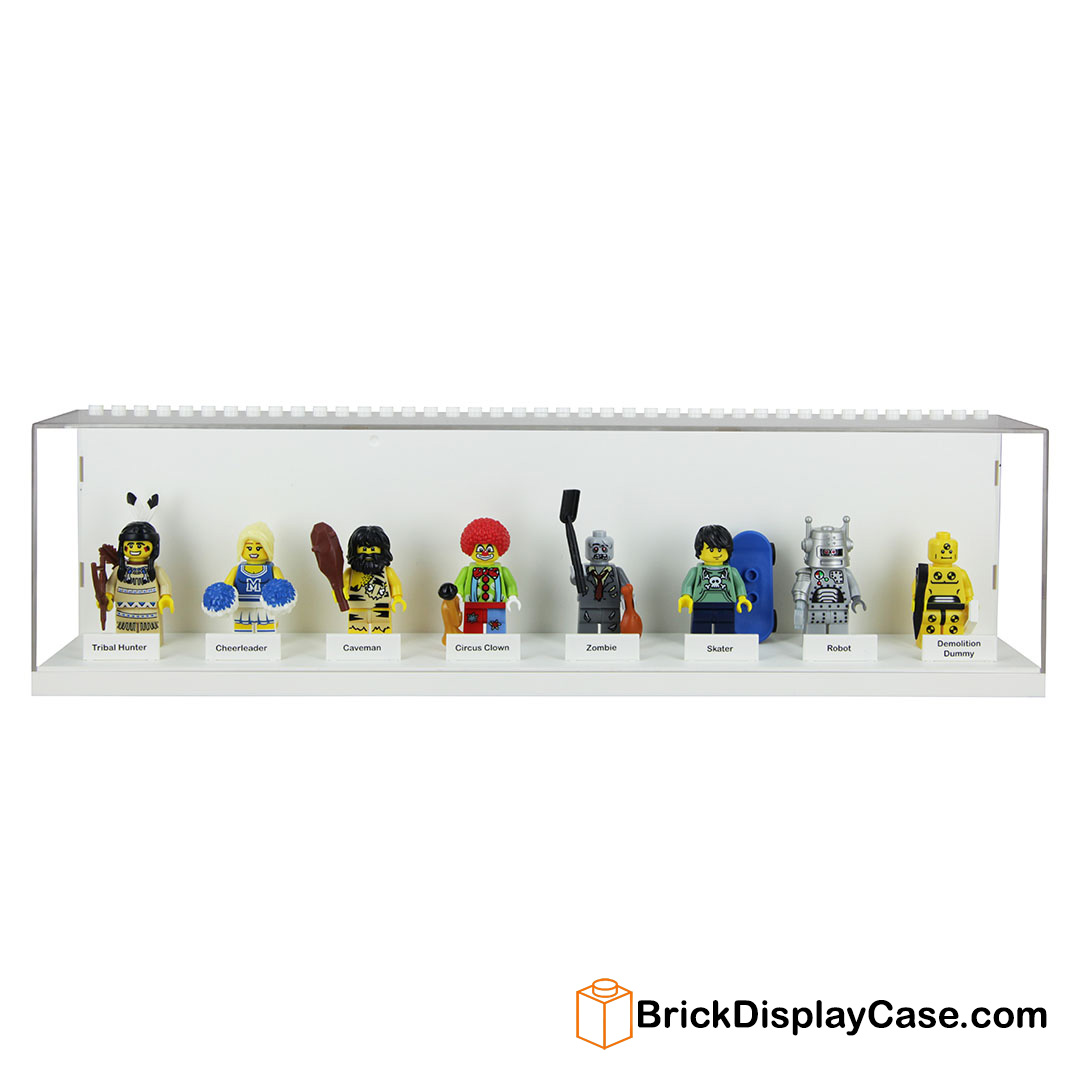 Circus Clown Minifig with Bugle or Horn and Minifig Stand NEW LEGO PARTS