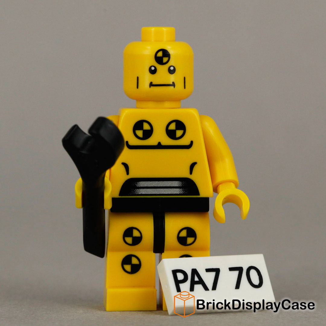 Demolition Dummy - 8683 Lego Minifigures Series 1