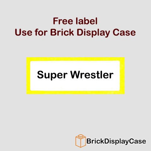 Super Wrestler - 8683 Lego Minifigures Series 1