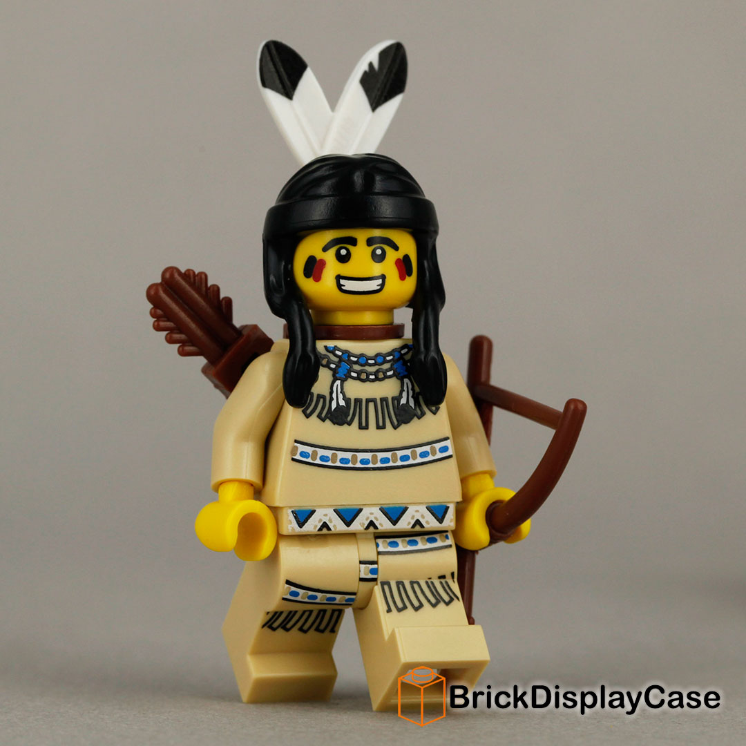 tribal hunter 8683 lego minifigures series 1. Black Bedroom Furniture Sets. Home Design Ideas