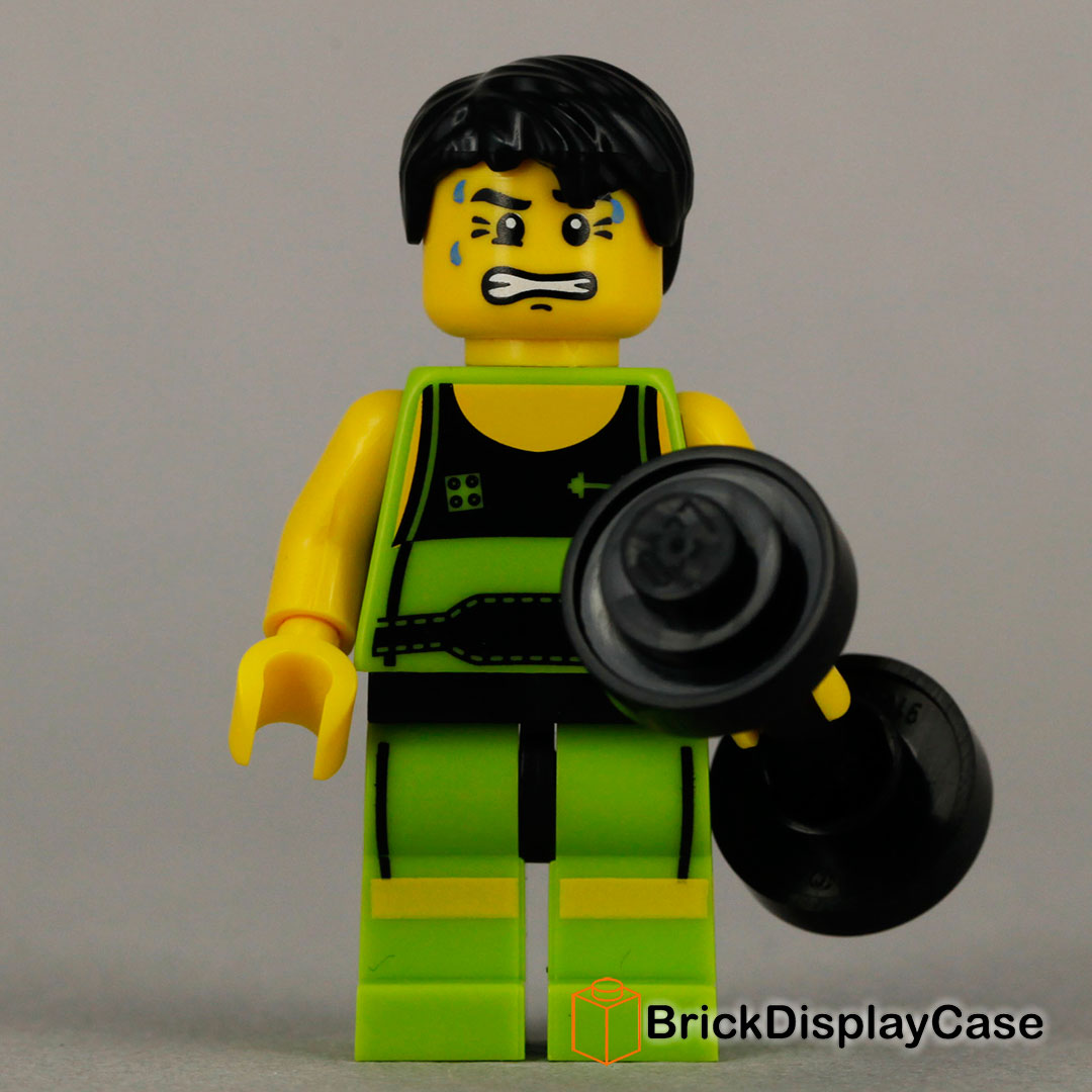 Weightlifter - 8684 Lego Minifigures Series 2