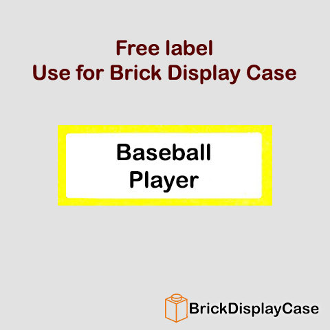 Baseball Player - 8803 Lego Minifigures Series 3
