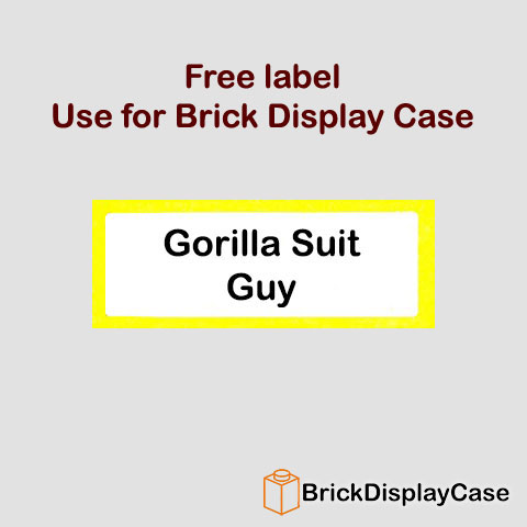 Gorilla Suit Guy - 8803 Lego Minifigures Series 3