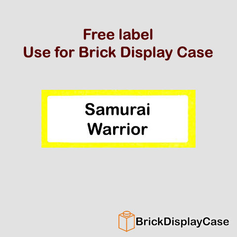 Samurai Warrior - 8803 Lego Minifigures Series 3