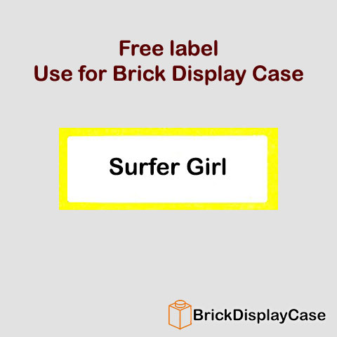 Surfer Girl - 8804 Lego Minifigures Series 4