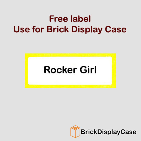 Rocker Girl - 8831 Lego Minifigures Series 7