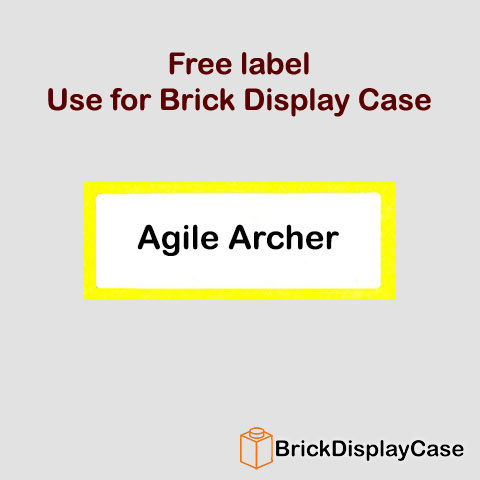 Agile Archer - 8909 Team GB Lego Minifigures Olympic Series