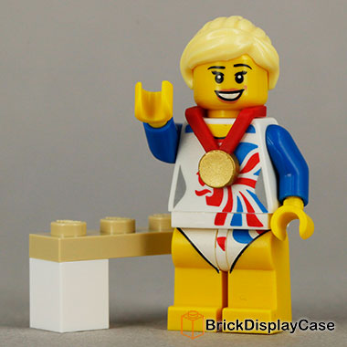 Flexible Gymnast - 8909 Team GB Lego Minifigures Olympic Series