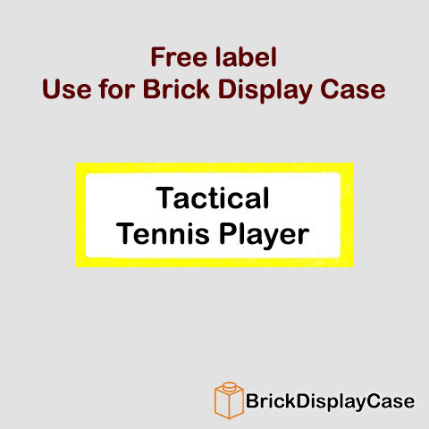 Tactical Tennis Player - 8909 Team GB Lego Minifigures Olympic Series