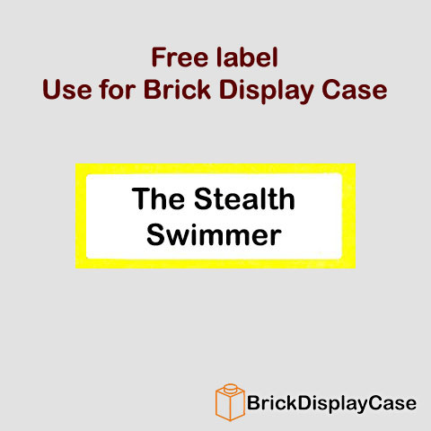 The Stealth Swimmer - 8909 Team GB Lego Minifigures Olympic Series