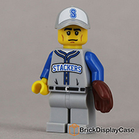 Baseball Fielder - 71001 Lego Minifigures Series 10