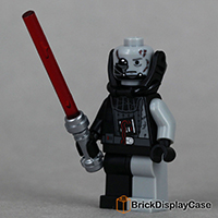 Darth Vader damage head - Star Wars Episode VI- Lego Minifigure