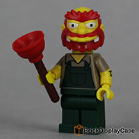 Groundskeeper Willie - 71009 Lego Simpsons Minifigures Series 2