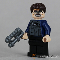 Jim Gordon - Batman - The Dark Knight - Lego 76001 Minifigure