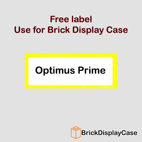 Optimus Prime - Kre-O Autobot Transformers Kreon Minifigure