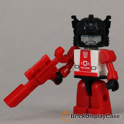 Red Alert - Kre-O Autobot Transformers Kreon Minifigure