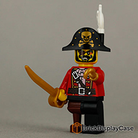 Pirate Captain - 8833 Lego Minifigures Series 8