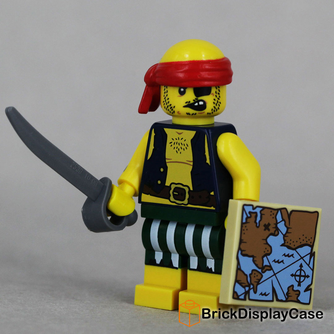 Scallywag Pirate - 71013 Lego Minifigures Series 16