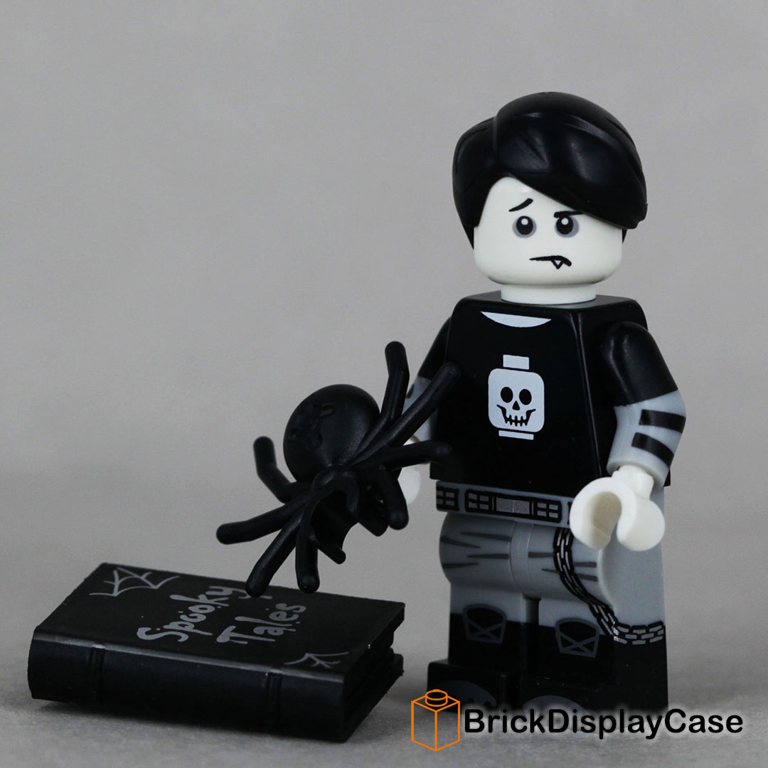 LEGO-MINIFIGURES SERIES 16 X 1 BOOK FOR THE SPOOKY BOY  SERIES 16 PARTS