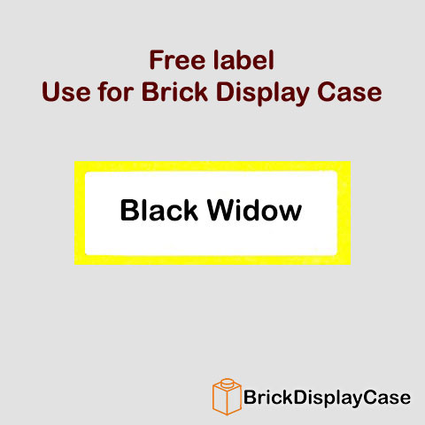 Black Widow - The Avengers - Lego Super Heroes Minifigure