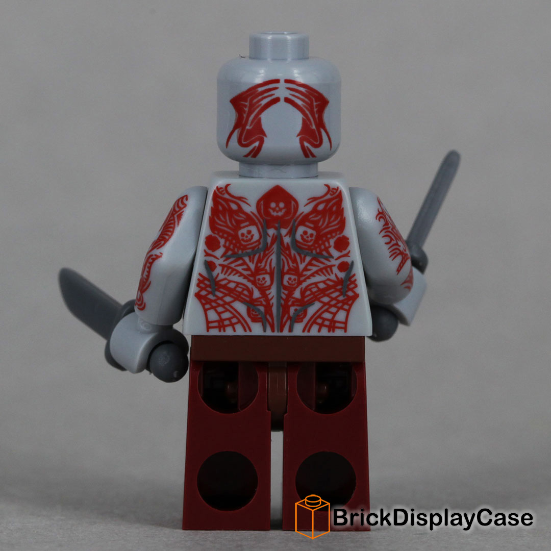 Drax - Guardians of the Galaxy - Lego 76021 Minifigure