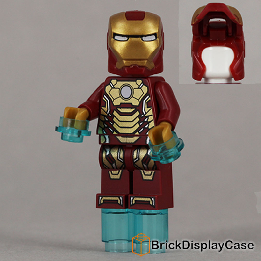 Iron Man Mark 42 Armor - Iron Man 3 - Lego Super Heroes Minifigure