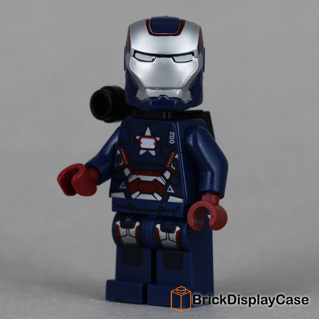 Iron Patriot - Iron Man 3 - Lego Minifigure