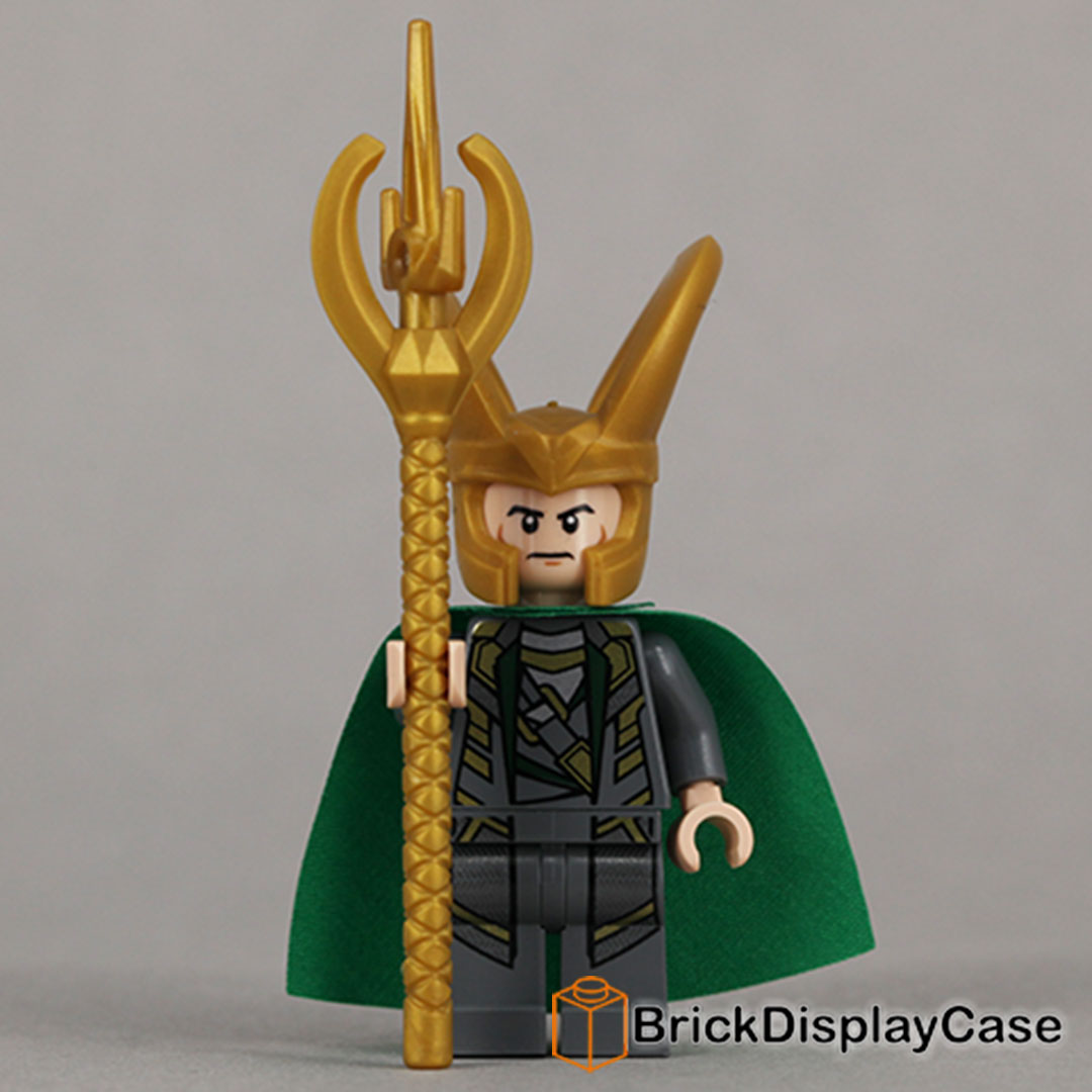 Loki - The Avengers - Lego Super Heroes Minifigure
