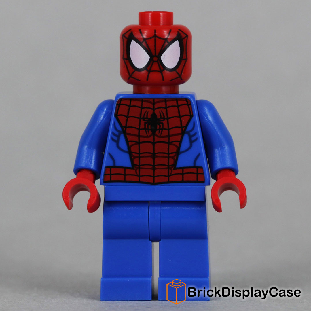 Spider Man Peter Parker In The Lego Incredibles Videogame: Lego 76016 Minifigure