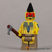 Tomahawk Warrior - 71001 Lego Minifigures Series 10