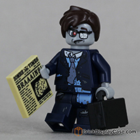 Zombie Businessman  - Lego 71010 Minifigures Series 14 Monsters