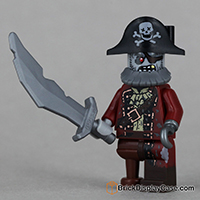 Zombie Pirate - Lego 71010 Minifigures Series 14 Monsters
