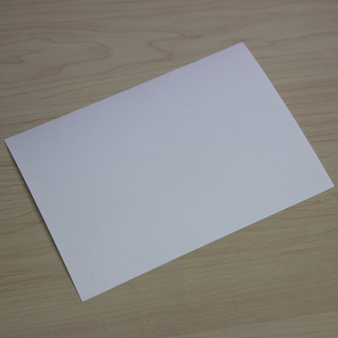 A5 Size Blank Label Sheet